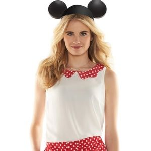 Lauren Conrad Disney Minnie Mouse Blouse